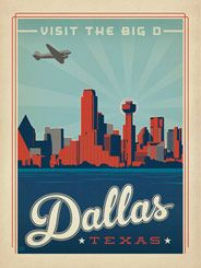 Dallas, Texas - This new addition to the Art & Soul of America Collection celebrates Dallas, Texas.