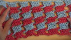 Punto entretejido  a crochet