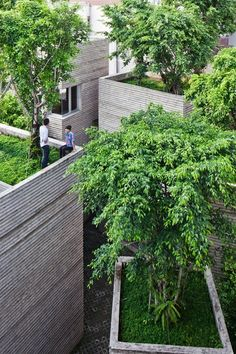 House for Trees, Ho Chi Minh City, 2014 - Vo Trong Nghia Architects #green #architecture