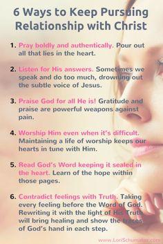 6 Ways to Keep Pursu