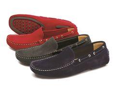 Donington - Suede lightweight driving shoe.