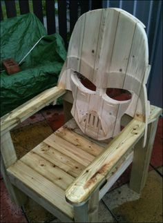 Guy Kawasaki - Google+ - (Mon02) Darth Vader patio chair. …
