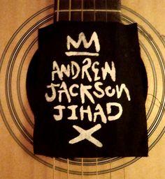Andrew Jackson Jihad folk punk patch by CastleCraftings on Etsy, $4.00
