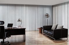 Upright blinds are window blinds from vertical blinds. Vertical blinds are utilized for window coverings as well as lighting controls that go into the area. Office Blinds, Office Curtains, Blinds For You, Blinds For Windows, Window Blinds, Budget Blinds, Types Of Curtains, Patio Doors, Window Coverings