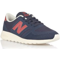 trendy New Balance 420 dames sneakers (Blauw)