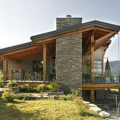 Shed Roof, British Columbia & Glass Rail - Rustic Exterior By Site Lines Architecture Inc. Contemporary Stairs, Contemporary Apartment, Contemporary Decor, Contemporary Cottage, Contemporary Wallpaper, Contemporary Chandelier, Contemporary Architecture, Contemporary Farmhouse Exterior, Contemporary Building