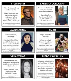 Famous Failures #3: Even More to Root For | Laura Randazzo – Solutions for the Secondary Classroom Shark Tank Cast, Famous Failures, Barbara Corcoran, Entertainer Of The Year, Influential People, Screenwriting, Artist Names, Freddie Mercury, Comedians