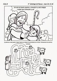 pastoral infantil para colorear - Buscar con Google