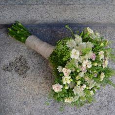 Ramo de novia verde que te quiero verde
