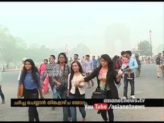 After 17 years Delhi meet High-level rising air pollution - YouTube