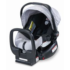 Britax Infant Chaperone Car Seat - Black/Silver-buybuy BABY