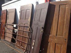 How to repurpose salvaged doors???