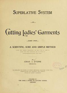 Superlative system of cutting ladies' garments ..