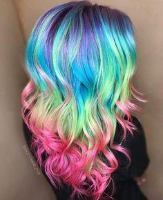 hair dye ideas colorful, Great hair !!!! Its sooooooo cool!!!! I love it!!!
