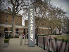 Saatchi Gallery on the Kings Road in London.