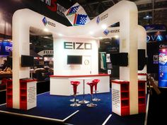Exhibition Stand: EIZO - Focus On Imaging, NEC Birmingham www.ddex.co.uk