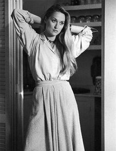 Meryl Streep in Manhattan 1979