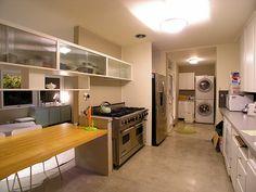 Great concrete floor - Gregory Ain house in Mar Vista.
