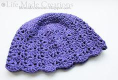 Crocheted Chemo Cap