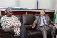 Chibuike Amaechi hosts European Union