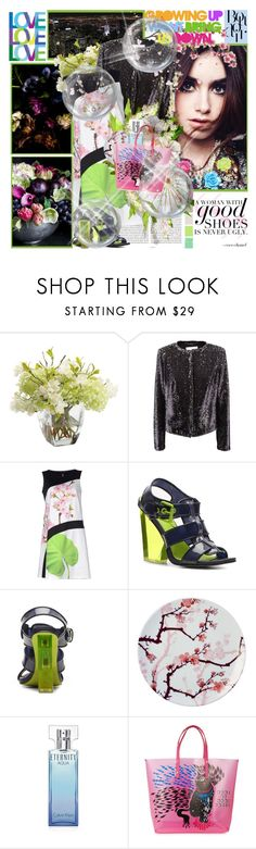 """There are always flowers for those who want to see them. Henri Matisse"" by purplecherryblossom ❤ liked on Polyvore featuring Oris, WALL, Ethan Allen, 1 ONE, Vogue, Ink Dish, Calvin Klein, Marc by Marc Jacobs and Betsey Johnson"