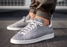 Adidas Stan Smith Primeknit « Light Solid Grey »