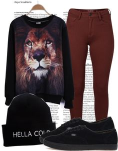 """Rawr..."" by cheerstostyle ❤ liked on Polyvore"