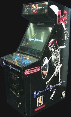 Killer Instinct Arcade Machine