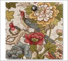 Fabric by the Yard - Ingrid Palampore | Pottery Barn
