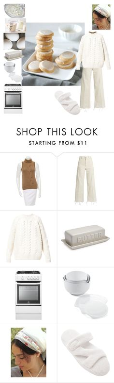 """""""A Perfect Day for Baking"""" by christined1960 ❤ liked on Polyvore featuring Michael Kors, Rachel Comey, Diesel, Sur La Table, Crate and Barrel, Sara Attali and kitchen"""