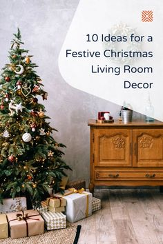 It's almost Christmas! And there's nothing magical and festive that'll get you into the Christmas spirit like decorating your living room. In case you need decor inspiration for weaving some holiday magic into your living room design, take a look at these Christmas living room decor ideas.
