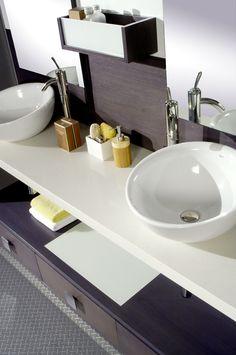 Aportando un toque de distinción al espacio de baño.