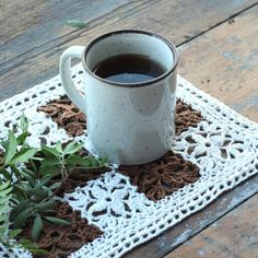 Coffee. Craft. Crochet. Handmade