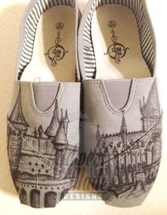 Hey, I found this really awesome Etsy listing at https://www.etsy.com/listing/194493961/custom-canvas-shoes-harry-potter