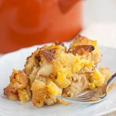 Pineapple Casserole for a Holiday side dish! So easy and delicious