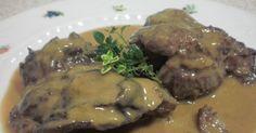 Mi Cocina: CARRILLERAS EN SALSA AL AROMA DE VAINILLA
