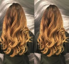 Heating things up with a gorgeous balayage by Ashley Mason of Newbury Street!
