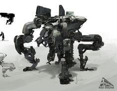 robot concept art - Google Search