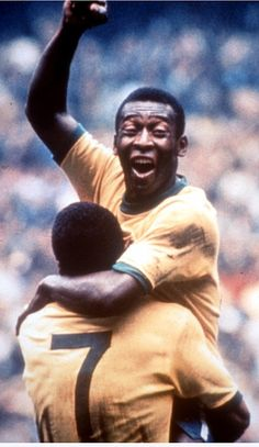 Pele (the legend). In total Pelé scored 1281 goals in 1363 games, including unofficial friendlies and tour games. He won three FIFA World Cups; 1962 and the only player ever to do so, and is the all-time leading goalscorer for Brazil with 77 goal. Soccer World, World Football, World Of Sports, Football Soccer, Play Soccer, Baseball Hat, Soccer Stars, Sports Stars, Good Soccer Players