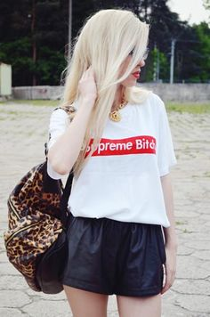 White Fashion Couple T-Shirt With English Letters | Choies
