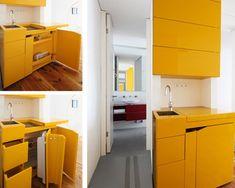space saving furniture design 3522 Modern transforming furniture