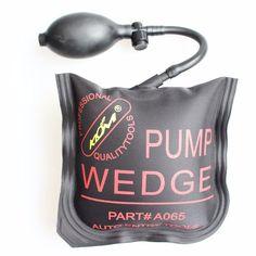 KLOM PUMP WEDGE LOCKSMITH TOOLS Auto Air Wedge Lock Pick Set Open Car Door Lock Medium Size 5.9 inch*5.9 inch for Window