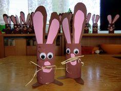 Velikonoční zajíčci (prostorová tvorba) Cake Pops, Easter, Cake Pop, Cakepops