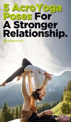 5 Acro #YogaPoses for a Stronger Relationship   http://iandarrah.com/