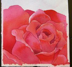 The Painted Prism Kids Watercolor, Watercolor Mixing, Watercolor Disney, Watercolor Flowers, Watercolor Painting, Paint Flowers, Summer Drawings, Color Studies, Rose Art