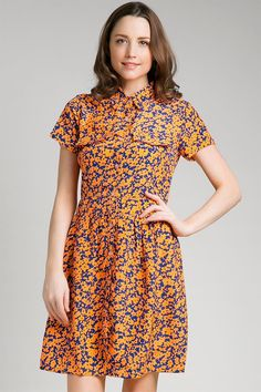 Orenji Dress