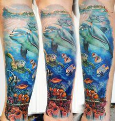 Tattoo Artist - Andre Zechmann - nature tattoo