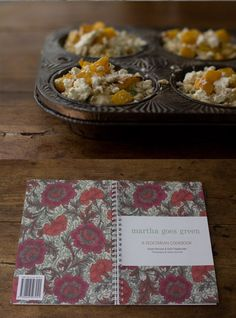 101 Cookbooks' Savory Pumpkin and Feta muffins adapted from little cookbook shown