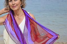 Antara Violeta. 100% destinado al proyecto Marina Silk, ayudamos a mujeres de India a mejorar su vida. www.luxeli.com