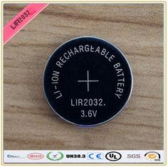 جديد! 4 قطعة/الوحدة lir2032 3.6 فولت زر عملة خلية بطارية ليثيوم قابلة يمكن استبدال CR2032 للساعات